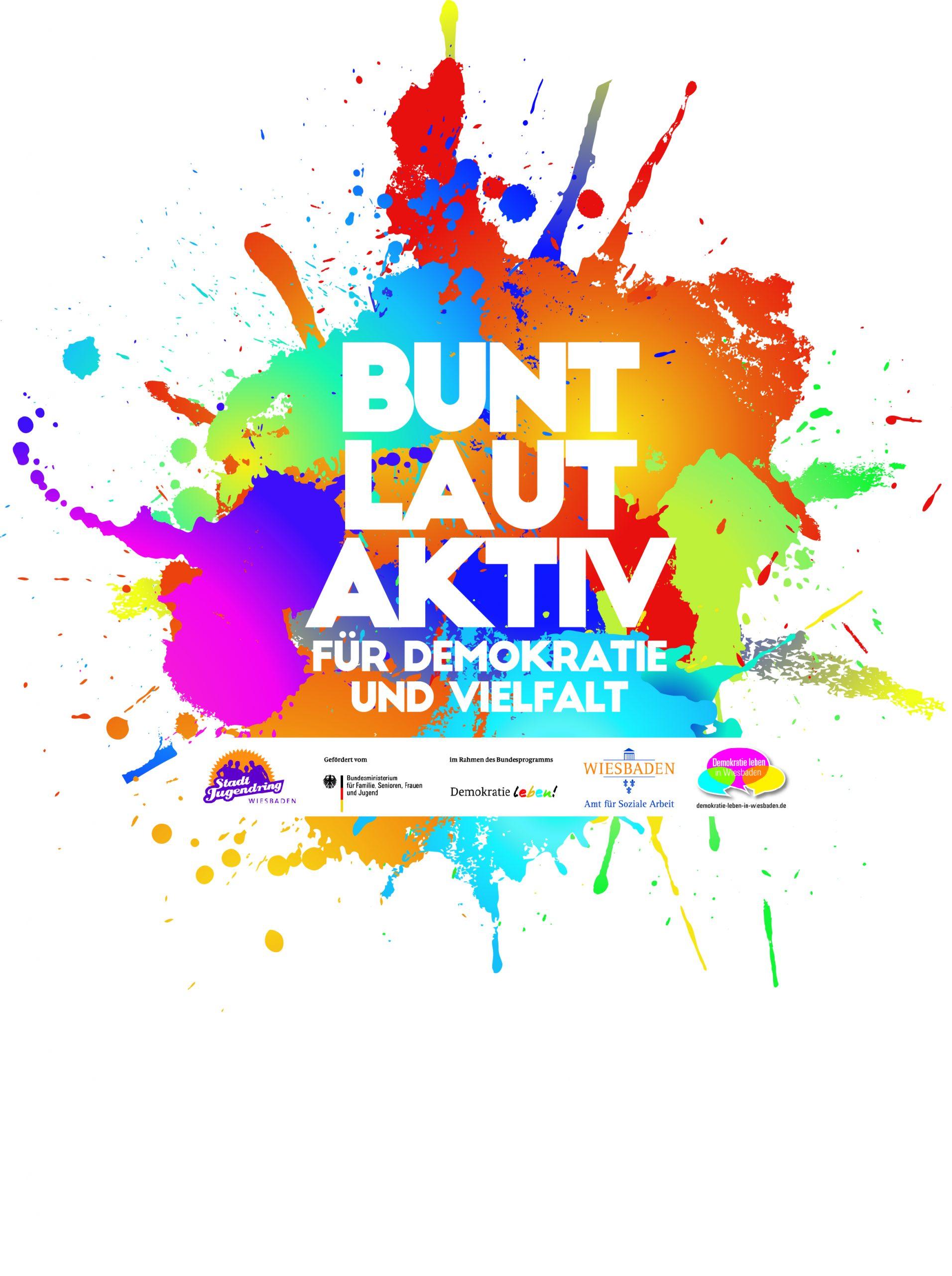 Logo Bunt-Laut-Aktiv