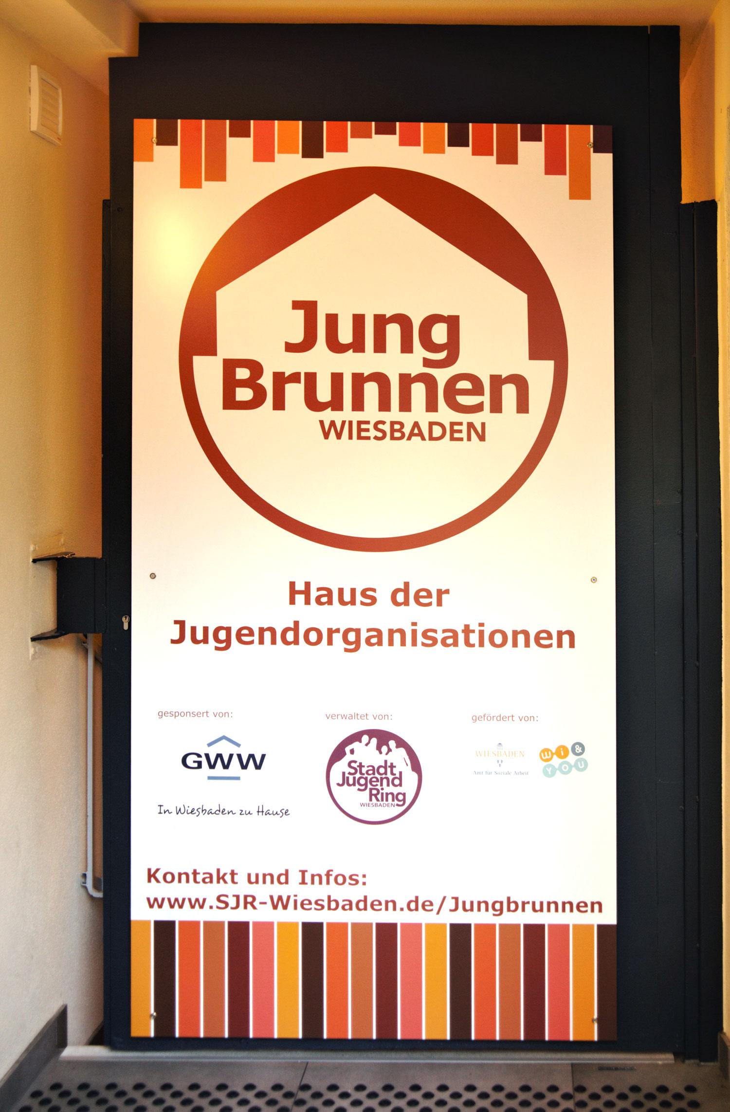 Foto Jungbrunnen Eingang